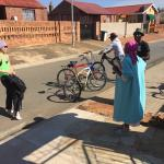 Cycle in Soweto Foto