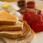 my bespoke 5 item brunch - yum yum