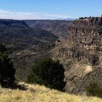 Amazing views of the Rio Grande Valley near Taos