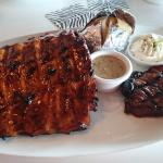 Steak and Ribs combo (yum)