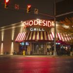 Nighttime at Rhodeside Grill