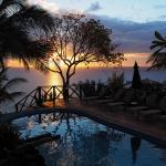 Beautiful Sunset from Pool Area
