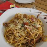 Spaghettis au lambis
