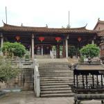 Inside the temple area