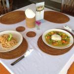 Chicken Valdosta and Aloo Gobi our favourites.