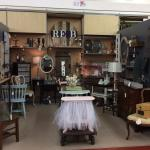 Re-B is a space filled with one of a kind repurposed furniture, wall decor and accessories.