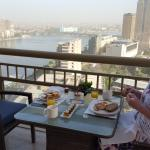 breakfast on the 22nd floor