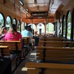 Trolley ride .