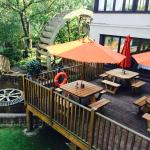 The Old Mill Beer Garden