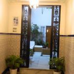 Hall de entrada al hostal