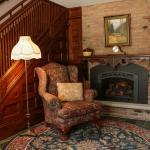 Parsonage Lobby Fireplace
