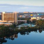 Full Property Exterior With Downtown Disney Daytim
