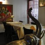 Intérieur du Restaurant Govinda