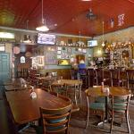 Warm interior of College Street Pub. Check out the patio in the back.