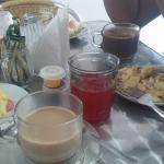 Desayuno a servirse en mesa