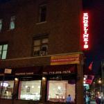 The corner restaurant