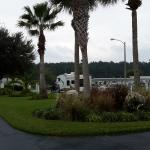 Entrance to RV Park