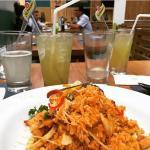 Chilcanitos y mi arroz con Mariscos