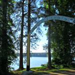 Lake Tiak-O'Khata Welcome Sign