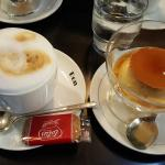 Cappuccino and Egg Pudding