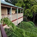 The verandah off the rooms is a great place to relax.