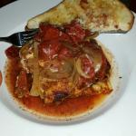 Lasagna...it was amazing