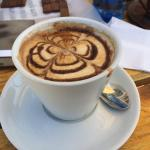 Cappuchino and caffe mocha