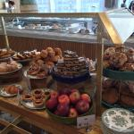Superb new cafe #benugo in John Lewis with range of fresh and interesting cakes. An oasis for a