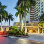 Ford Lauderdale Marriott North overlooks a lush natural preserve