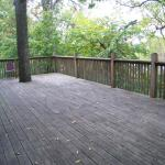Deck on Lakeside Building
