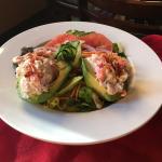Lobster & Shrimp Stuffed Avocado