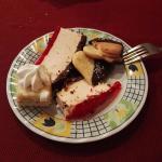 Esas galletitas de corazón, esa torta de yoghurt! <3