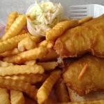 Fish and chips for lunch