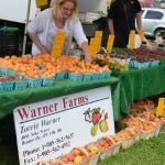 Warners Farms at the Orillia Fairgrounds Farmers' Market.