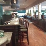 Daly's Restaurant - bar area.