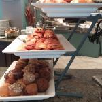 Daly's Restaurant - brunch - pastries and muffins.