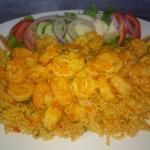 nuevo camarones con arroz