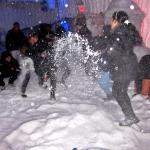 playing With Real Snow