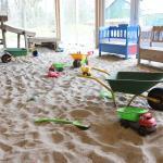 Indoor Sandkasten im Park 2