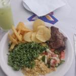 Um dos meus pratos favoritos! O arroz de brócolis é o melhor!