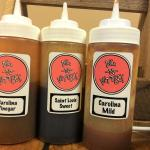 Sauces made in house