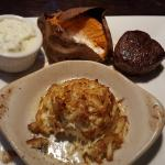 Colossal Crab Cake and 4 Oz Filet