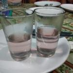 Medicated water at Kerala cafe' :D