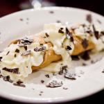Our famous Cannoli! - Prepared fresh in house, this sweet treat is one of our most popular items
