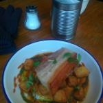 Even though it's expensive the pork belly was delish! Am happy to pay £7.50 and it fills you up.