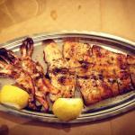 Amazing taste - grilled calamari gigantes