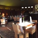 Restaurace a hotelový pokoj v Oranzerii
