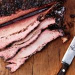 Tender Slow Smoked Texas Style Brisket