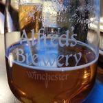 'Saxon Bronze' local ale