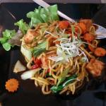 Vegie/tofu meal